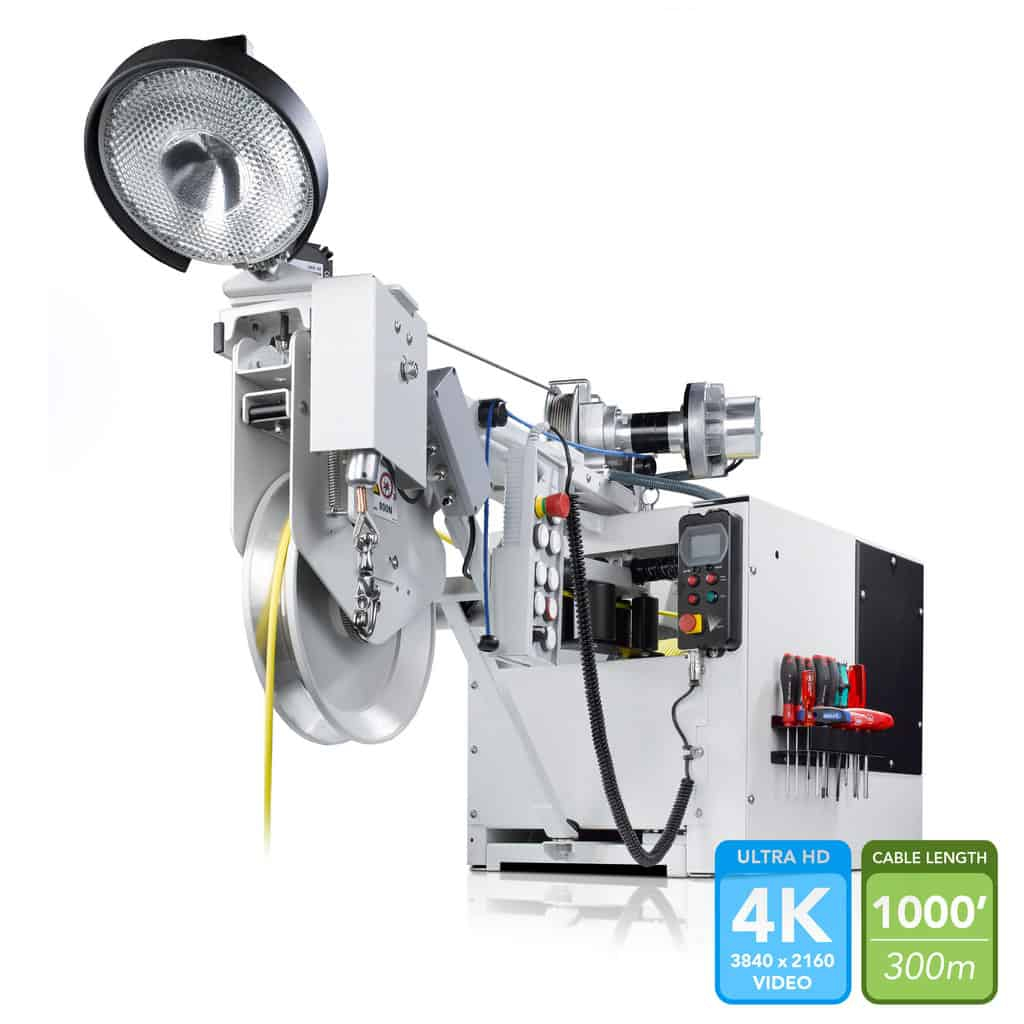 KW 305/310 (KW 310 accepts fiber optic cable for 4K compatibility!)