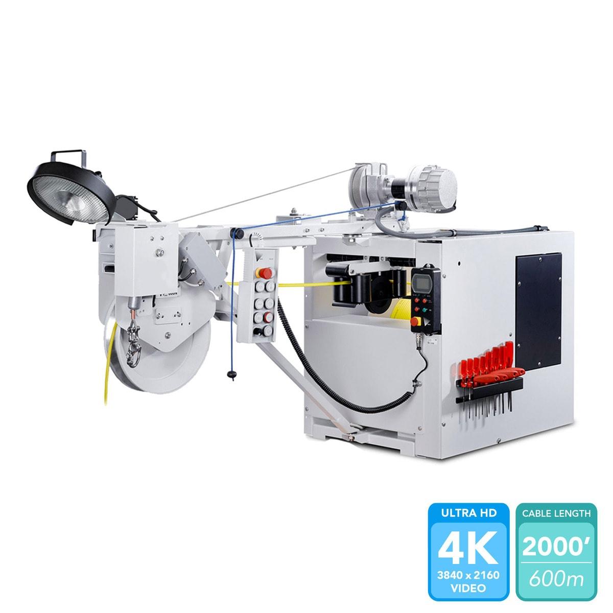 KW 505 Fiber Optic Cable Reel
