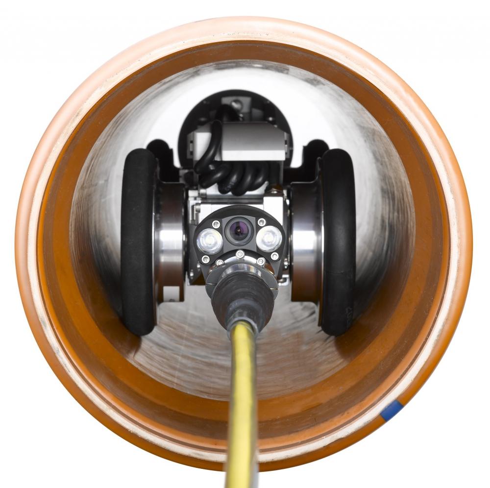 RETRUS Reverse Camera in pipe