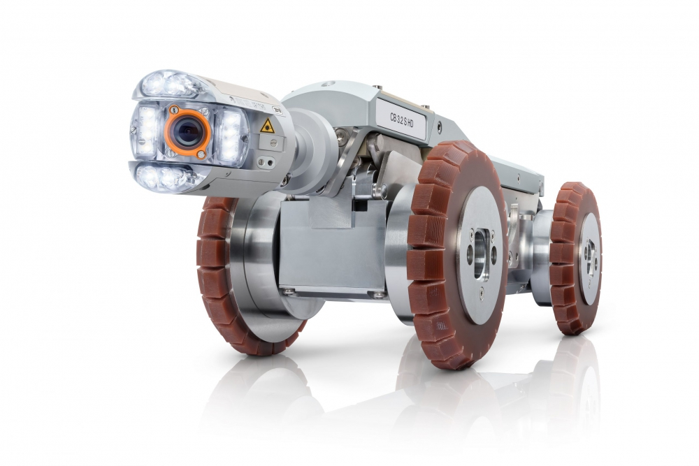 ORION 3 SD/HD Camera Head on T86 Tractor