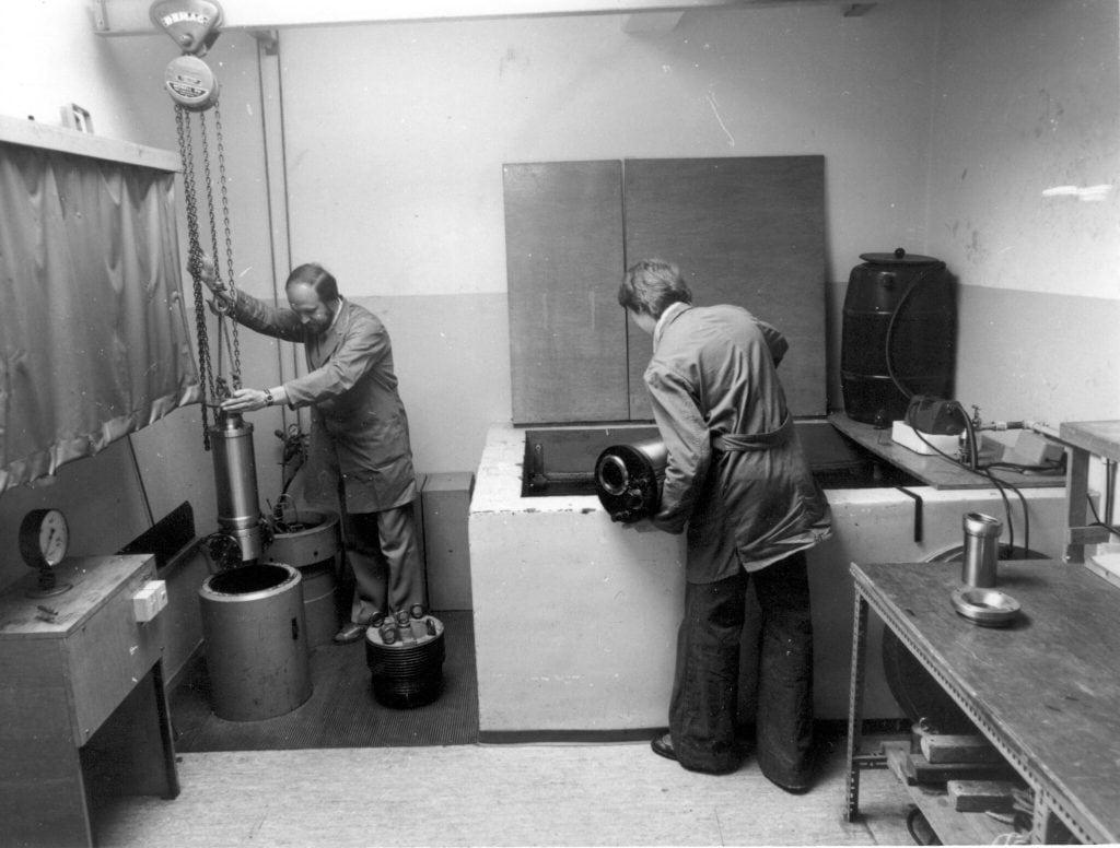 IBAK Testing Lab - 1970