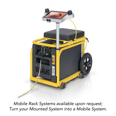 Mobile Rack Available! (contact a member of the sales team for more information)