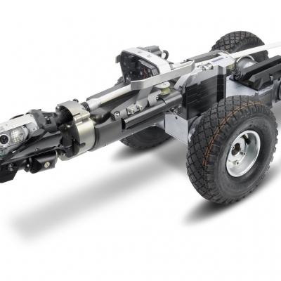 Pneumatic Tires on LISY 3.2