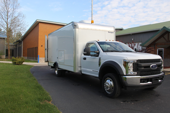 F450 Inspection Vehicle with Bathroom