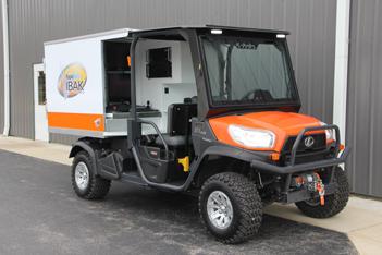 Kubota Inspection Vehicle