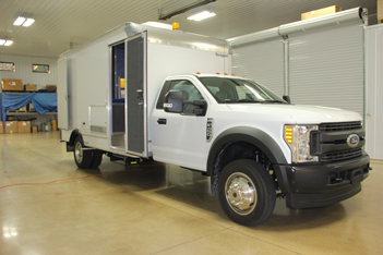 F450 HD Inspection Vehicle