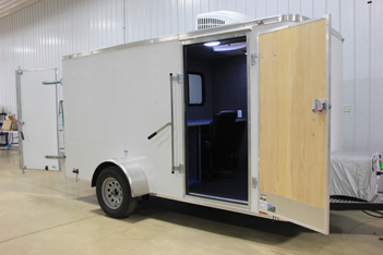 Eco Trailer fitted with Inspection Equipment/Office